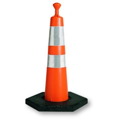 "Viz-Con 28"" GRABBER CONE NO REFLECTIVE COLLAR/ 10# BASE"