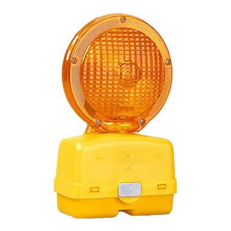Viz-Con 6V ECONOMY BARRICADE FLASHING LIGHT YELLOW 10 PK