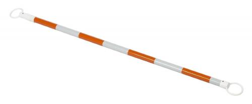 Viz-Con CONE-BAR RETRACTABLE 5.5'-10.5' ORG/WHT REFLECTIVE