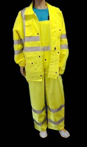 AHLBORN ANSI/ISEA 107-2015 Class 3 Type E Lime Bib Overalls with 3M Scotchlite Reflective Tape Small