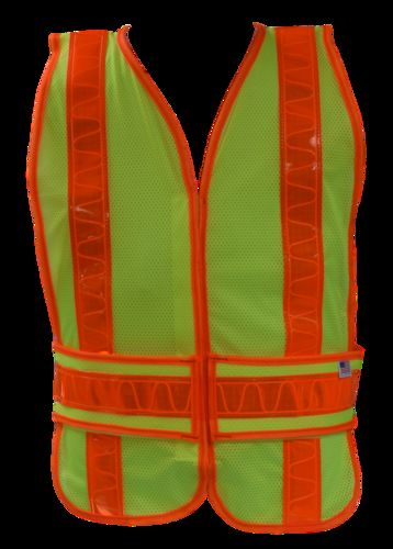 ANSI Lime Class II Safety Vest -Open Style