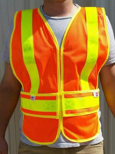AMERICAN MADE | USA Made Safety Vest | Type R Class 2 | MTS-Safety